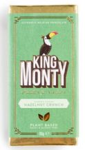 King Monty Hazelnut Crunch Bar - 90g